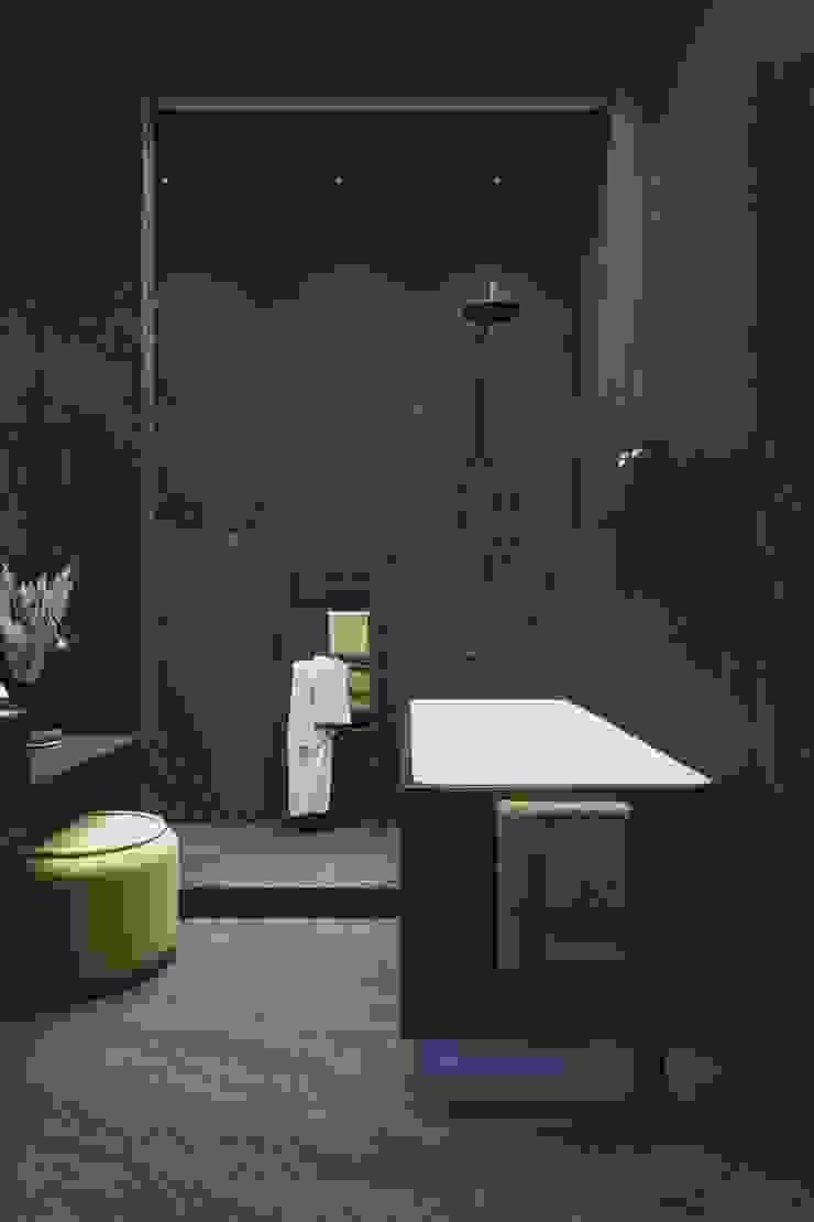 Y.F.architects Bagno minimalista