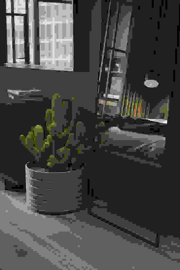 Y.F.architects Camera da letto minimalista