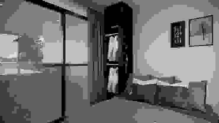 K.THARINEE Modernize Design + Turnkey บ้านและที่อยู่อาศัย ไม้ Grey