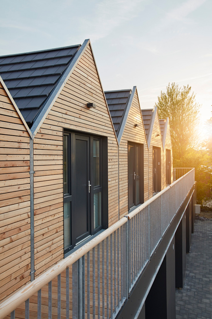 JEBENS SCHOOF ARCHITEKTEN BDA Terrace house Wood