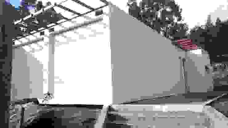 BLOC Casa Modular / Moradia T4 com 140 m2 - Vista lateral dir BLOC - Casas Modulares