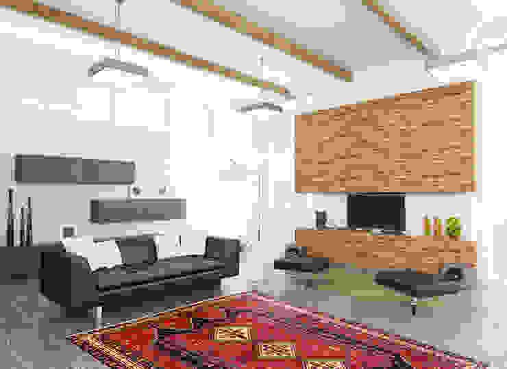 Persian House Salas de estilo clásico Bambú Rojo