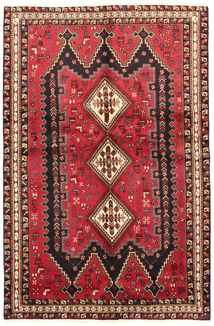 Persian House Lantai Bambu Red