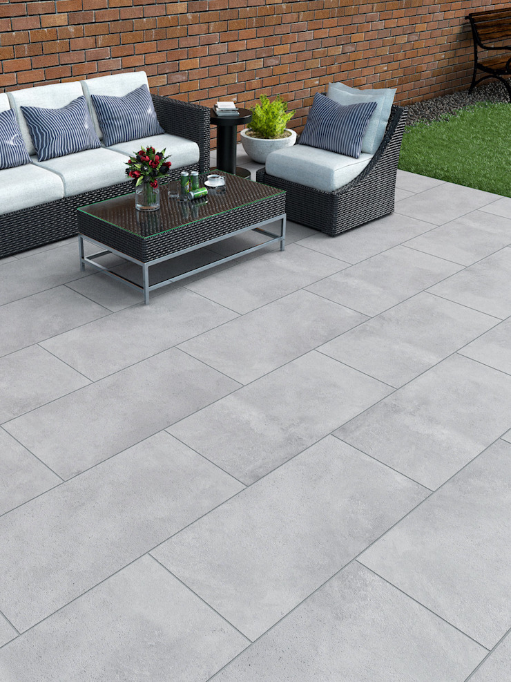 Paving Slabs by Royale Stones Royale Stones Limited Garden Shed