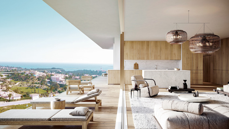 Propriété Générale International Real Estate Balcony