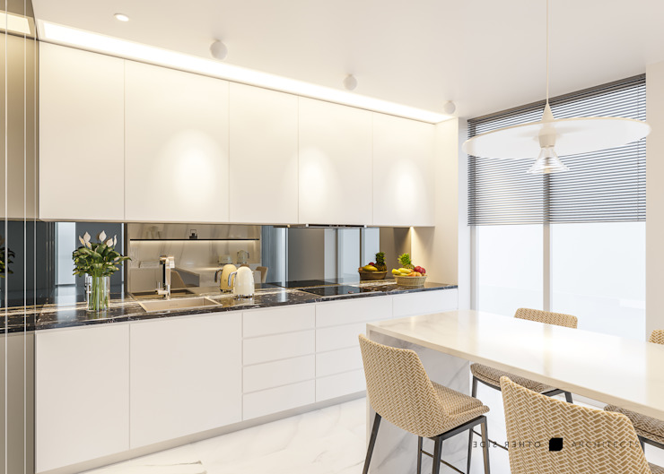 Modern Furniture OTHERSIDE ARCHITECTS Cozinhas modernas Branco
