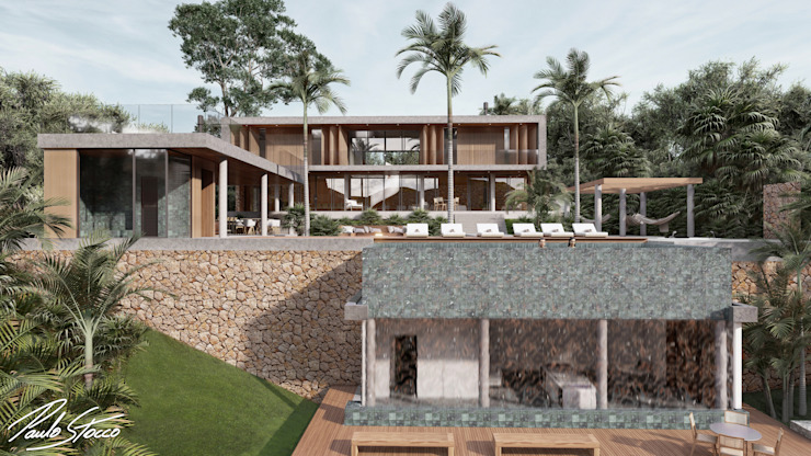 Paulo Stocco Arquiteto Rumah tinggal