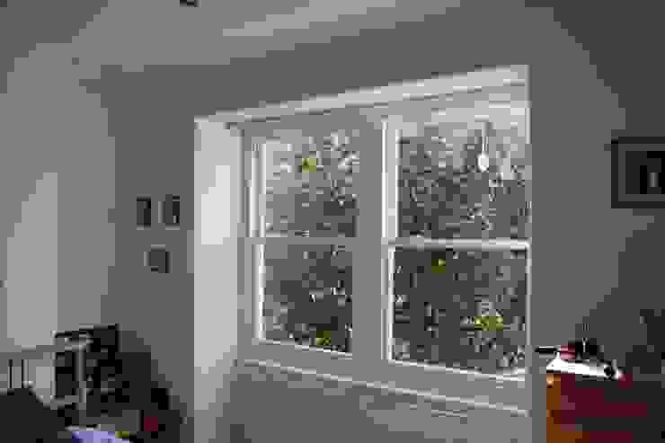 Double sash window Repair A Sash Ltd Ventanas de madera Derivados de madera Blanco
