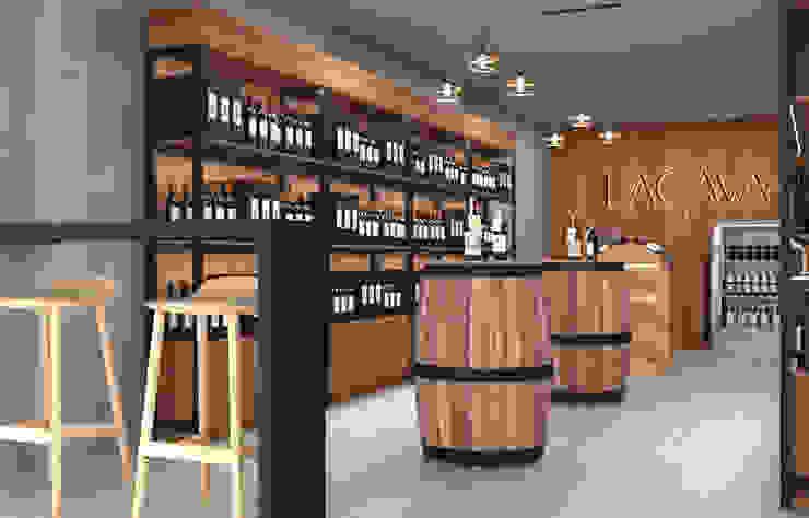 Cava Gourmet Pragma - Diseño Oficinas y tiendas