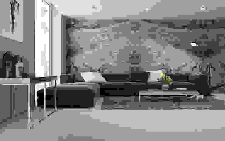 Design Stone Kamar Mandi Modern Brown