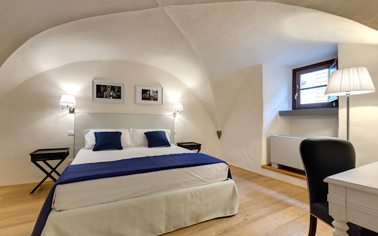 Camera con volta a crociera Arch. Alessandra Cipriani Camera da letto in stile classico