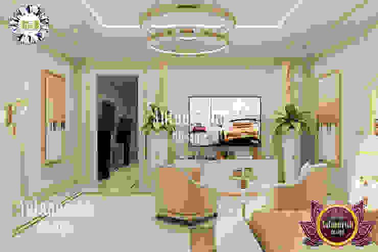 EXCLUSSIVE INTERIOR DESIGN SERVICES IN DUBAI BY LUXURY ANTONOVICH DESIGN Luxury Antonovich Design Modern style bedroom