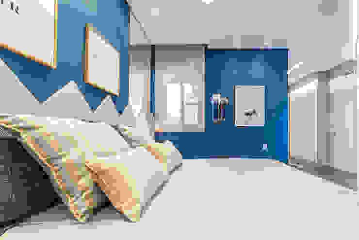 MoronCavallete - soluções em arquitetura Modern Bedroom