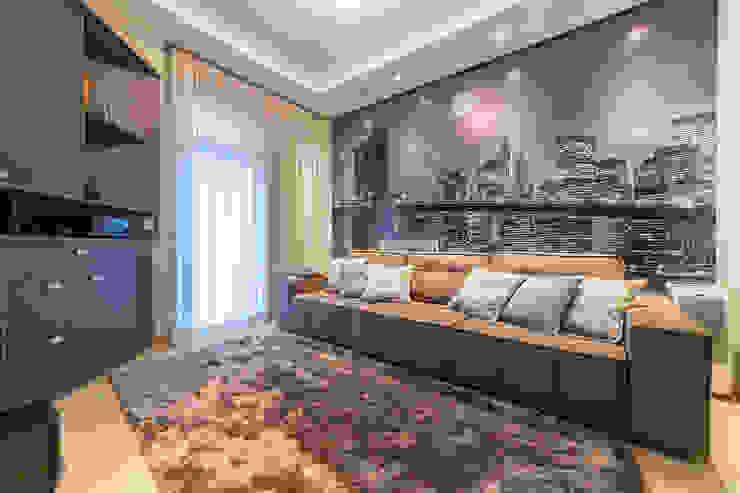 MoronCavallete - soluções em arquitetura Modern Media Room