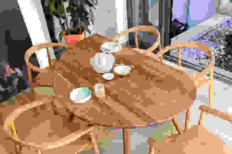 Manna | Mobiliário Restaurante Boa Safra Sala de jantarMesas Madeira maciça