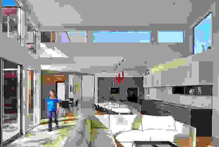 KUBE architecture Ruang Keluarga Modern
