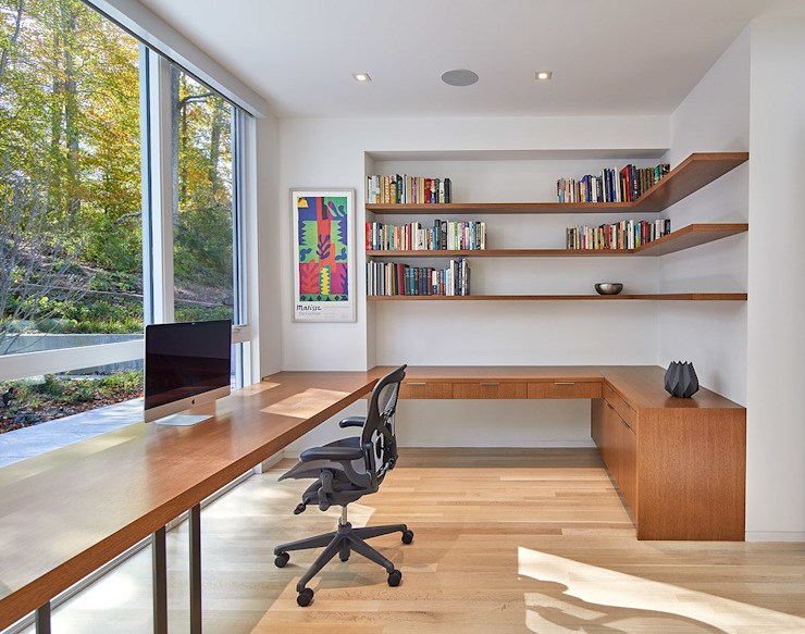 KUBE architecture Ruang Studi/Kantor Modern
