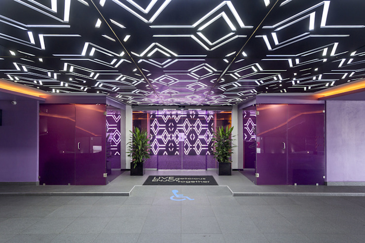 MANUEL TORRES DESIGN Hotels Purple/Violet