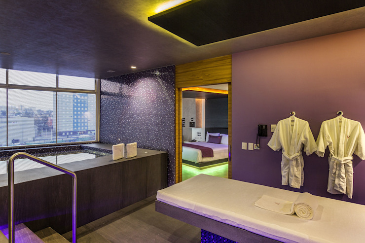MANUEL TORRES DESIGN Hotels Tiles Purple/Violet