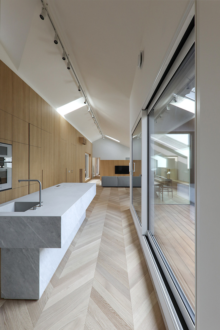 CP Parquet Modern Kitchen Wood