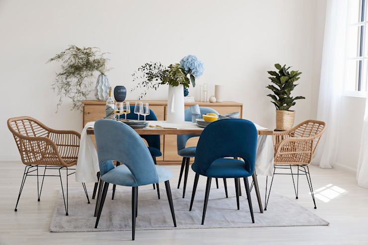 press profile homify Modern Dining Room