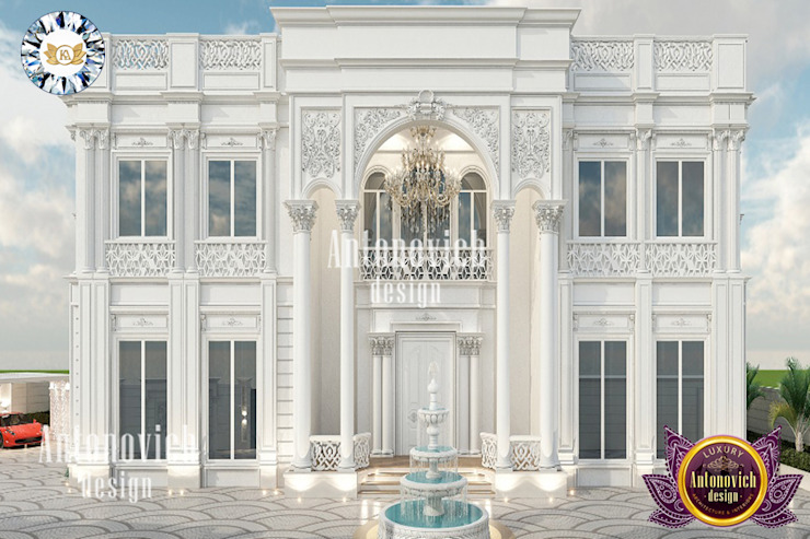 MOST LUXURIOUS ARCHITECTURE AND INTERIOR DESIGN IN DUBAI BY LUXURY ANTONOVICH DESIGN Luxury Antonovich Design Multi-Family house