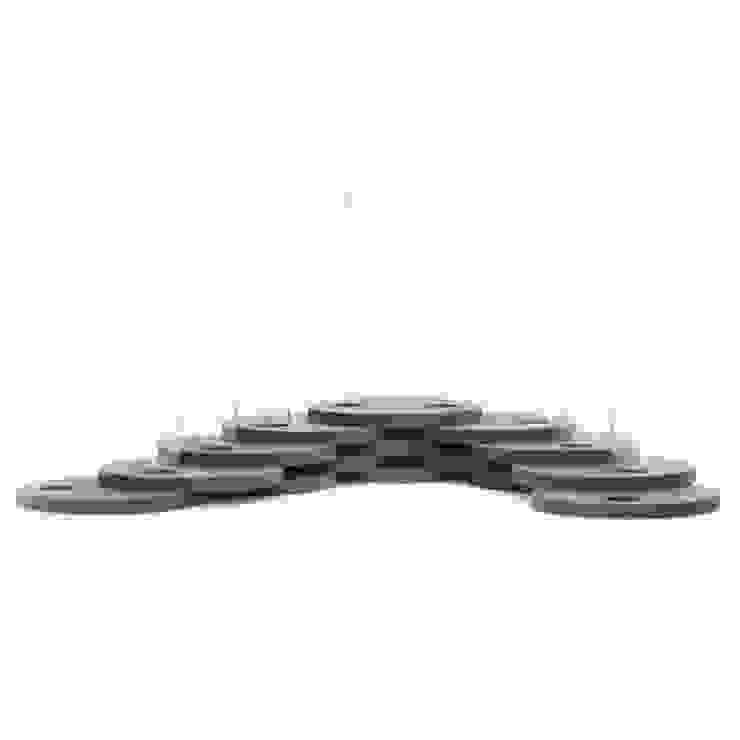 Dutch Duo Design ห้องนั่งเล่นของตกแต่งและอุปกรณ์จิปาถะ ไม้เอนจิเนียร์ Black