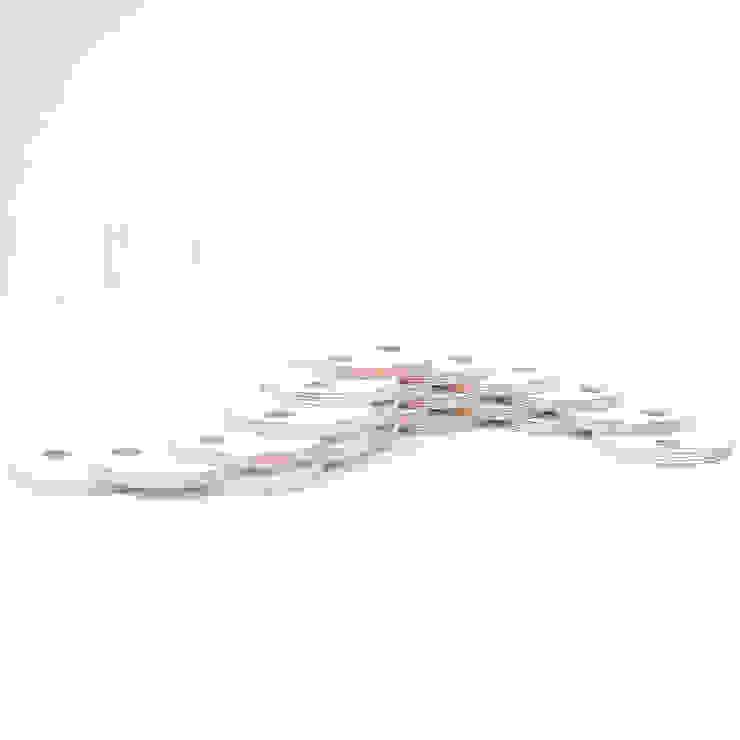 Dutch Duo Design ห้องนั่งเล่นของตกแต่งและอุปกรณ์จิปาถะ ไม้เอนจิเนียร์ White