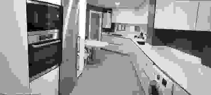 Gomez-Ferrer arquitectos Moderne Küchen