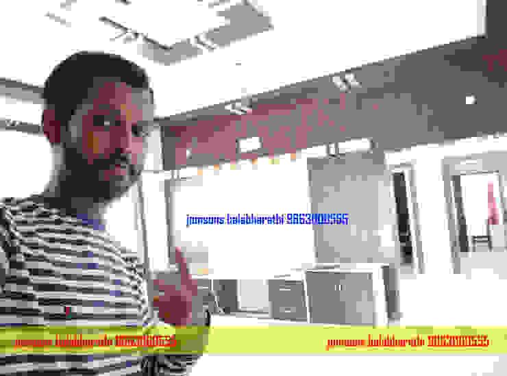 Tv Showcase Design Hindupur 9663000555 balabharathi pvc interior design Living roomTV stands & cabinets Plastic Wood effect