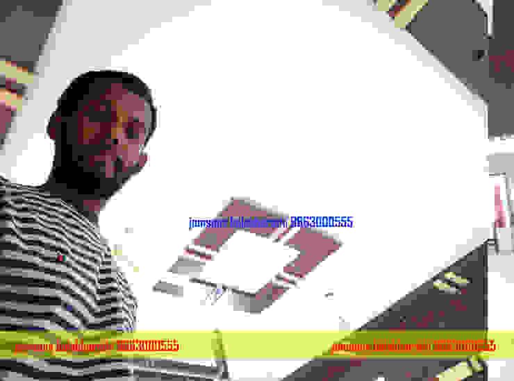 pvc falseceiling Hindupur 9663000555 balabharathi pvc interior design Living roomTV stands & cabinets Plastic Wood effect