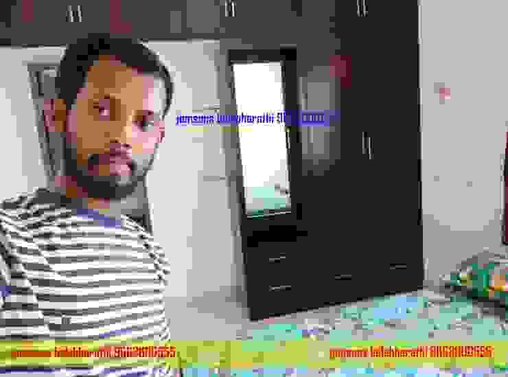 PVC Dressing table Hindupur 9663000555 balabharathi pvc interior design BedroomWardrobes & closets Plastic Wood effect