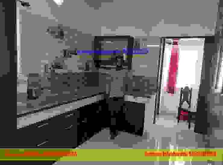 L type Kitchen cabinets Hindupur 9663000555 balabharathi pvc interior design KitchenKitchen utensils Plastic Wood effect