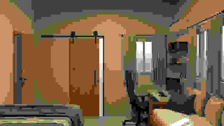 PIN Arquitetura Спальня