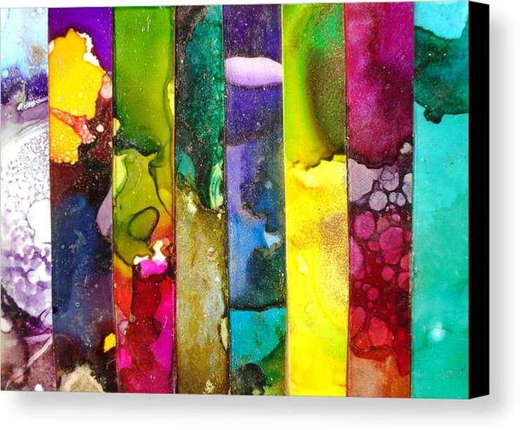 Large Fluid Alcohol Ink Art Paintings, Luxury Marbled Wall Art, Panel Wall Art, Vertical Stripe Painting, Metal Wall Art Print, Abstract Contemporary Modern Industrial BOHO office wall art nature wall art Variatis by Holly Anderson Holly Anderson Fine Art ArtworkPictures & paintings Multicolored