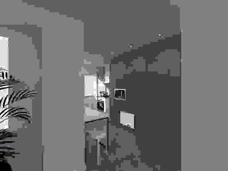 Linhas Simples Unit dapur Grey