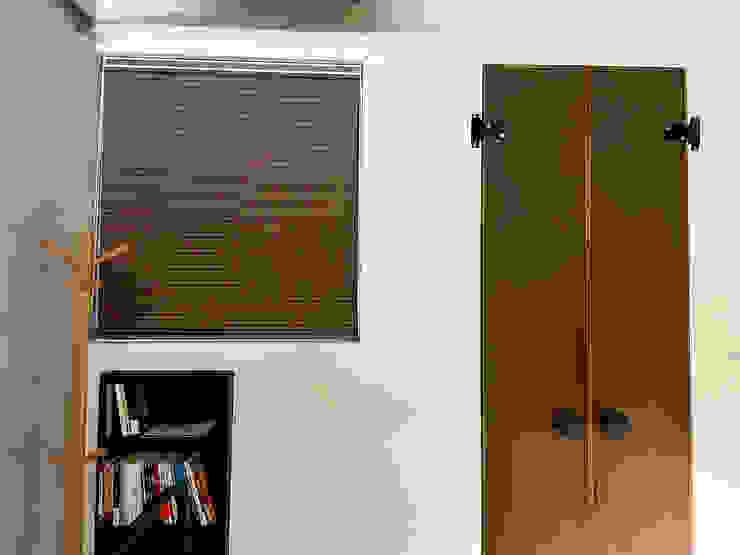 充滿清新氛圍的森林系居家|蜂巢簾・斑馬簾・鋁百葉簾・實木百葉簾 MSBT 幔室布緹 Modern style bedroom Brown