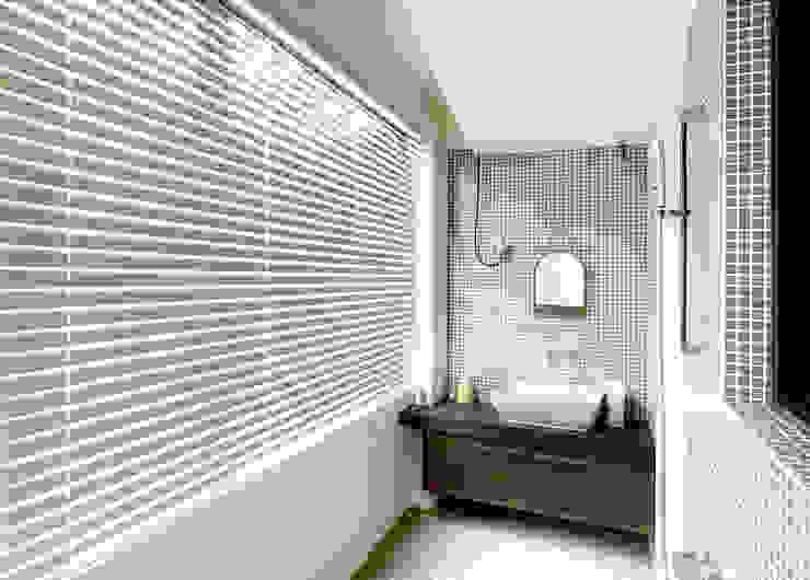 充滿清新氛圍的森林系居家|蜂巢簾・斑馬簾・鋁百葉簾・實木百葉簾 MSBT 幔室布緹 Minimalist style bathroom White