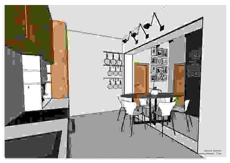 Progettazionecasa.com Salas de jantar modernas