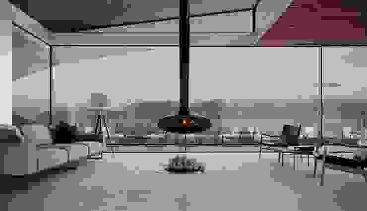 MJARC - Arquitetos Associados, lda Living room