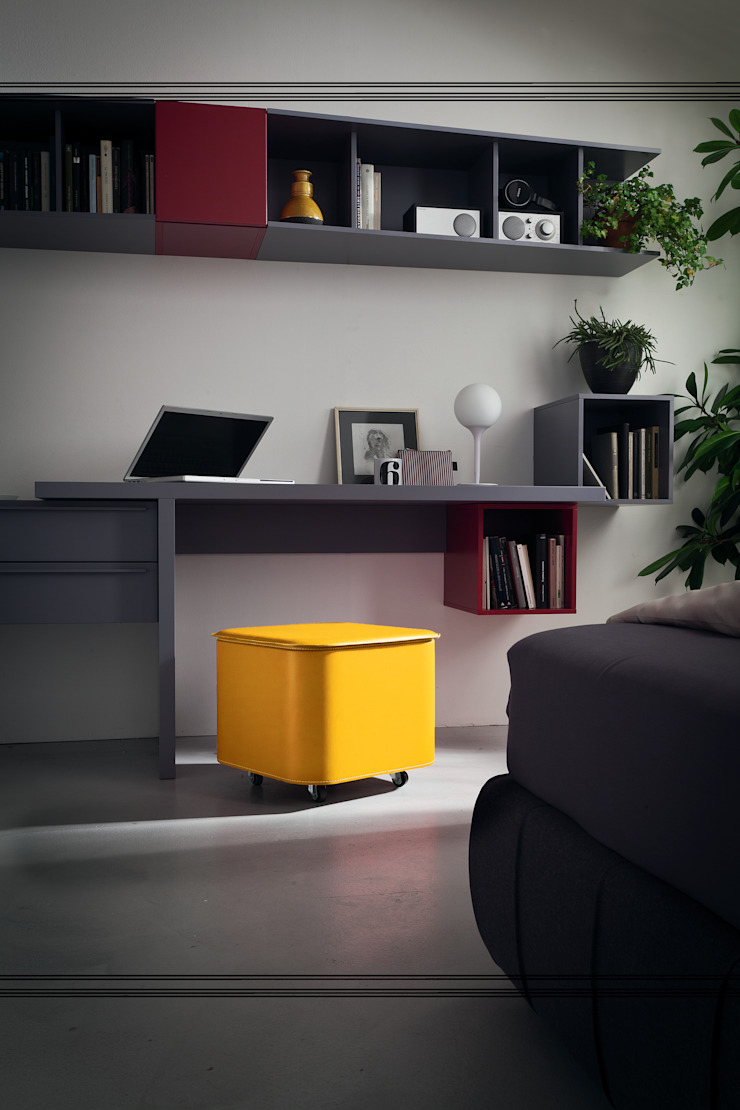 Limac Design Study/officeAccessories & decoration Kulit Yellow
