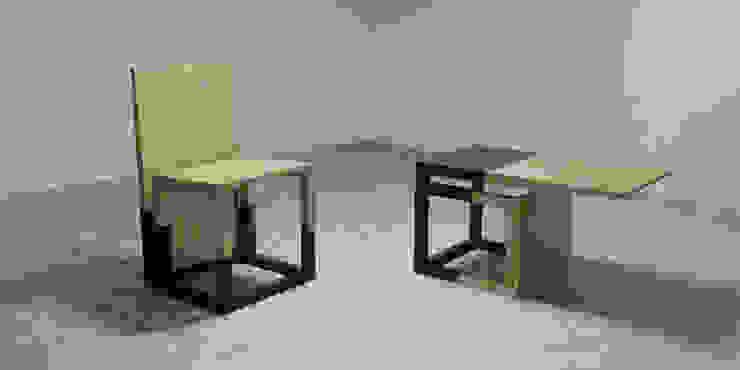 DUAL SOUL SET WoodLikeDesign SoggiornoSgabelli & Sedie Legno massello