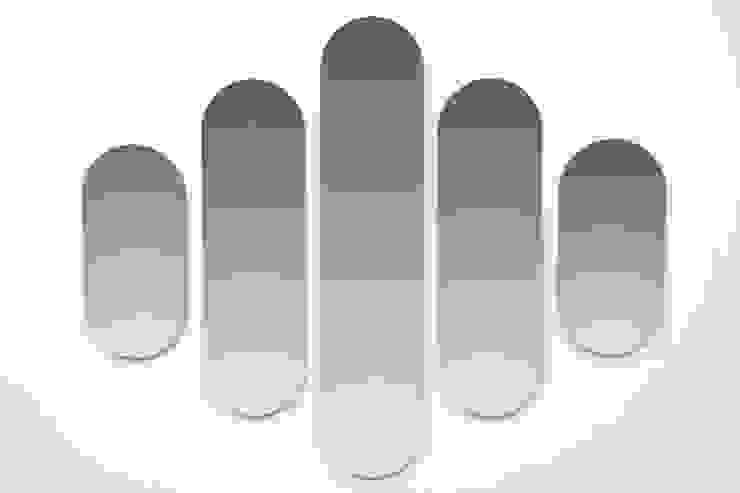Dutch Duo Design Ingresso, Corridoio & ScalePortabiti & Guardaroba MDF Trasparente
