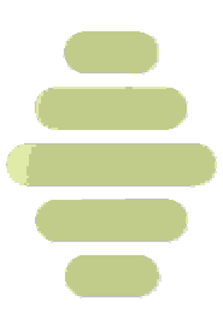 Dutch Duo Design Ingresso, Corridoio & ScalePortabiti & Guardaroba MDF Verde