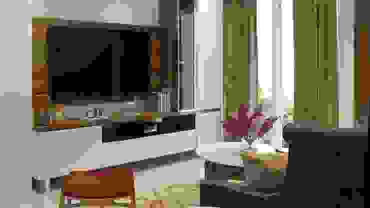 Tv unit in living room Lakkad Works Modern living room