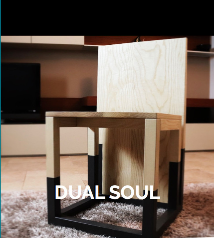 WoodLikeDesign Living roomStools & chairs Solid Wood