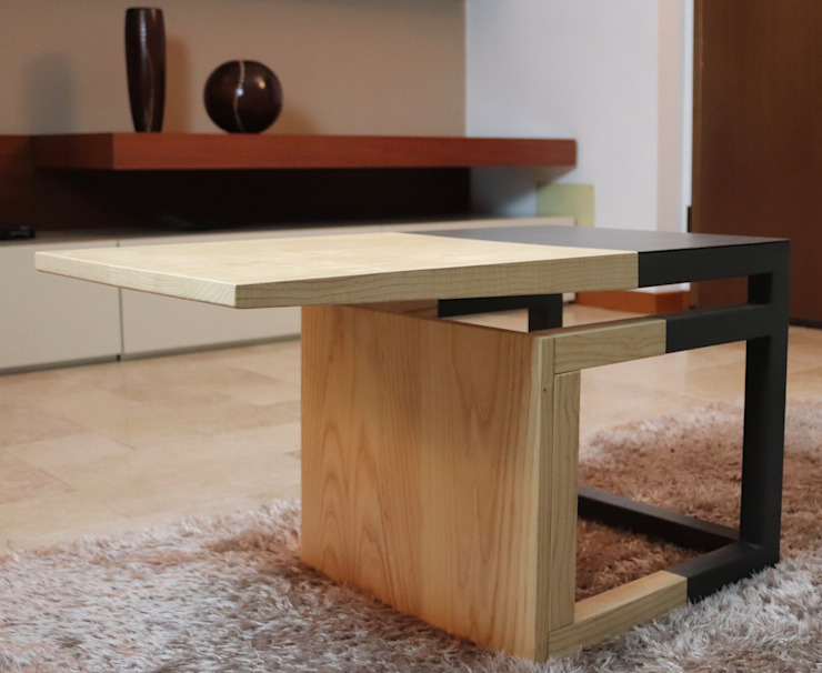 WoodLikeDesign Living roomSide tables & trays Solid Wood