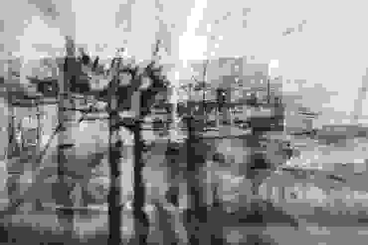 ArtSelbach Modern study/office Aluminium/Zinc White