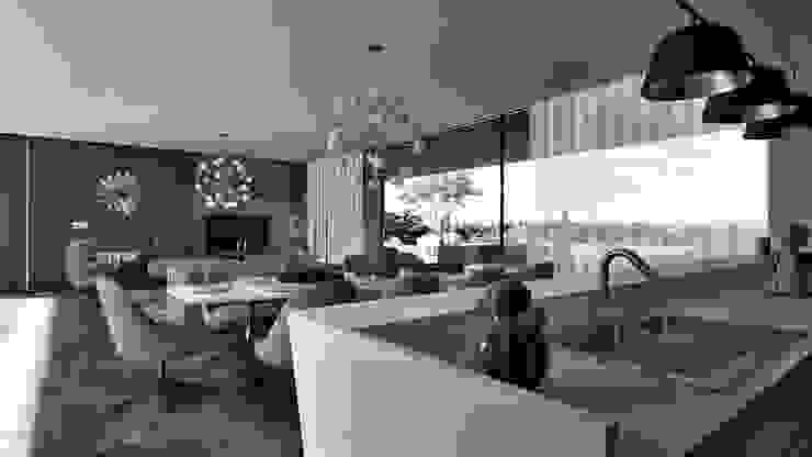 Casa Marco Esboçosigma, Lda Salas de estar modernas