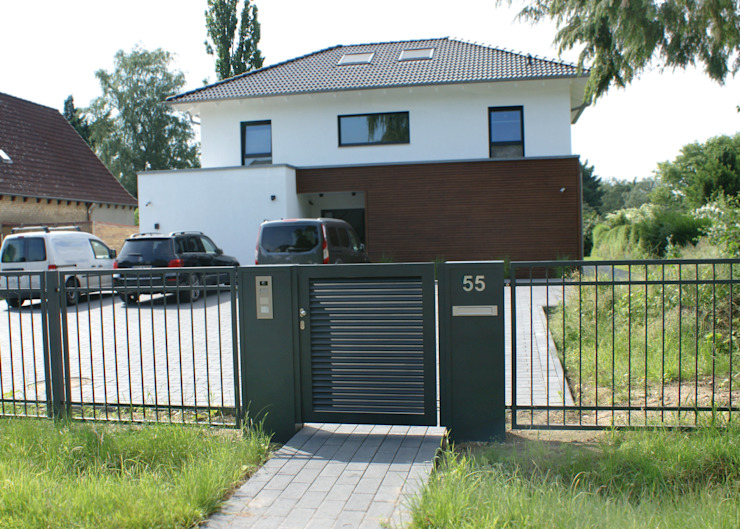 Nordzaun Garden Fencing & walls Iron/Steel Grey